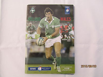Ireland v Wales. Rugby Union. 6 Nations. February 2004.