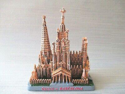 Sagrada Familia Gaudi Barcelona Souvenir Model 5 1/2in Spain Espana