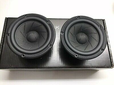 Scan Speak 15W/4531G00 Revelator 5.5″ Woofers, 4 ohm PAIR USED