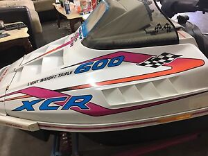 Xcr 600 triple for trade