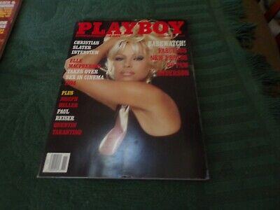 NOVEMBER, 1994 PLAYBOY PAM ANDERSON COVER, ELLE MCPHERSON, QUENTIN TARANTINO