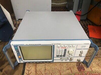 Rohde Schwarz Sfu Broadcast Test System 100 Khz 3 Ghz Opt. B1 3 4 5 6 B30