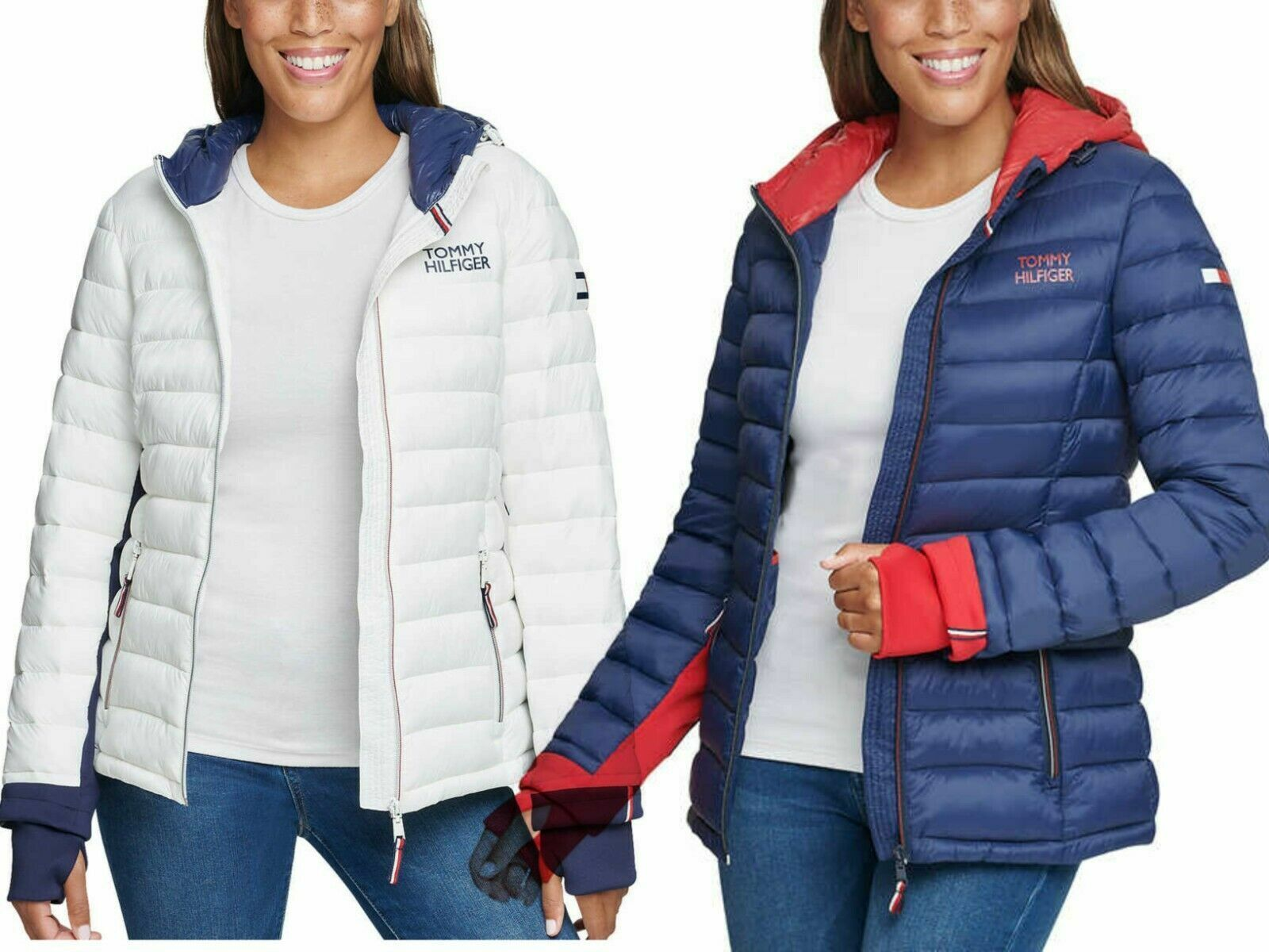 Tommy Hilfiger Ladies' Packable Jacket VARIETY Size & Color   Free Shipping L32