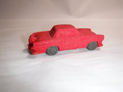 1956 RED T-Bird  Ford Thunderbird  Dream Machines Red Sandstone Collectible