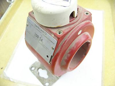 Sangamo Bh-6 Current Transformer Cat. No. 71501 2005a 600 Volts