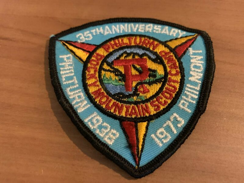 BSA, 1973 35th Anniversary of Philmont Scout Ranch Patch
