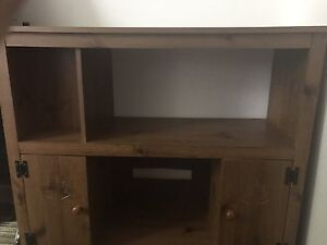 Wood tv Stand $30 OBO