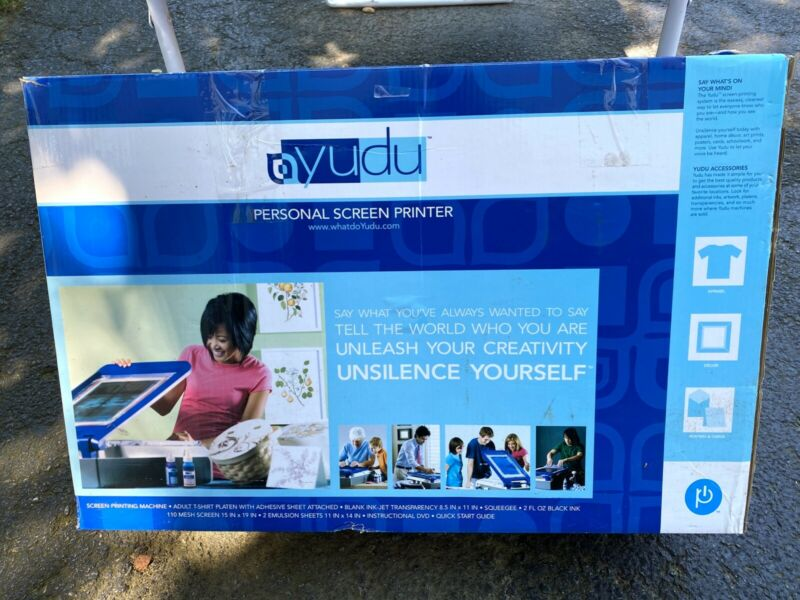 Yudu Personal T-Shirt Screen Printer Printing Machine 62-5000 Barely Used
