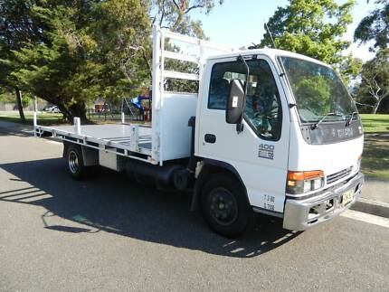 2001 Isuzu NPR 400 Table top Truck Forestville Warringah Area Preview
