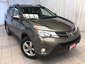 2015 Toyota RAV4 XLE FWD Alloys Sunroof