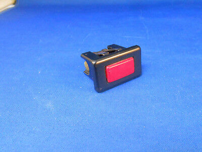10-5005  Market Forge Red Light Indicator Press Fit 75.0w 220.0-227.0v  Nos