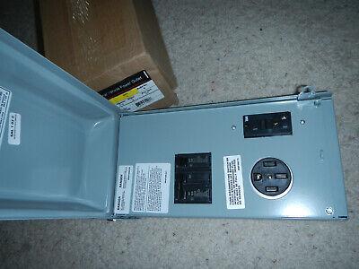 Outlet Box Unmetered Power 70 Amp Rv 5020 2-space 2-circuit 240-volt Gfci Plug