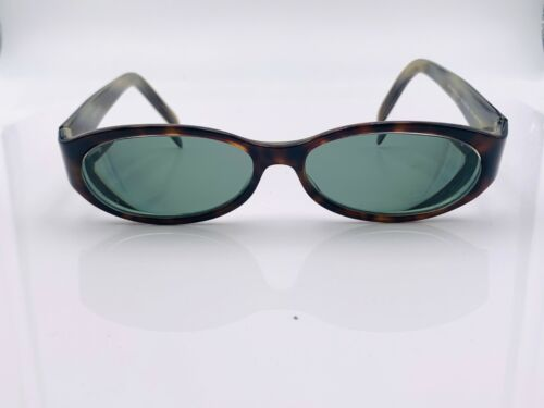 Vintage Gucci GG2522/S SU2 Tortoise Oval Sunglasses Italy FRAMES ONLY