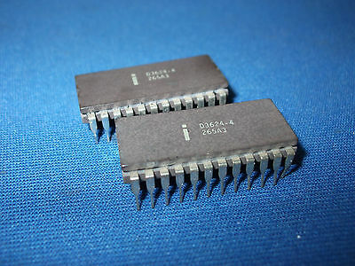 D3624-4 Intel D3624 Prom 24-pin Cerdip Vintage 1976 Nos Last Ones