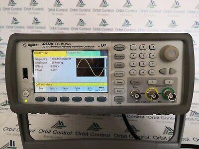 Hp Agilent Keysight 33522a Function Arbitrary Waveform Generator 30mhz