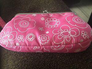 Pink Floral Nintendo DS Case, 2 Games