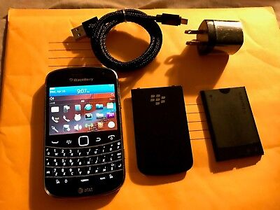 BlackBerry Bold 9900 -NO CAMERA- 8GB - Black (AT&T) 3/4G,TOUCH SCREEN,WIFI,GPS