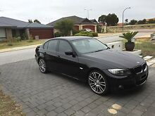 BLACK 2009 BMW 320i E90 LCI Canning Vale Canning Area Preview