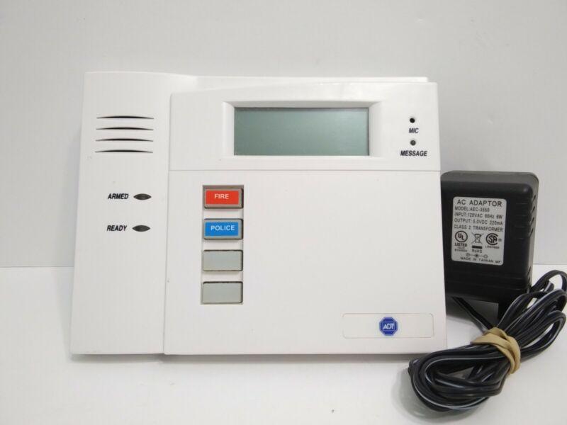 Honeywell 5828V Wireless Keypad ADT Alarm Adaptor AC AEC-3550