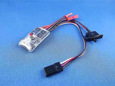 Fahrtregler 10A ohne Bremse / Vor- und Rückwärts / 4,8-8,4V / Brushed / BEC 1A 8.4 V 1