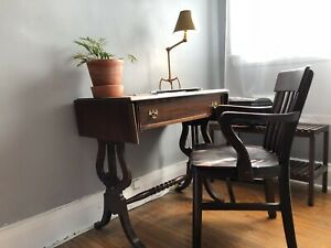 Antique Writers Desk and Bankers Chair