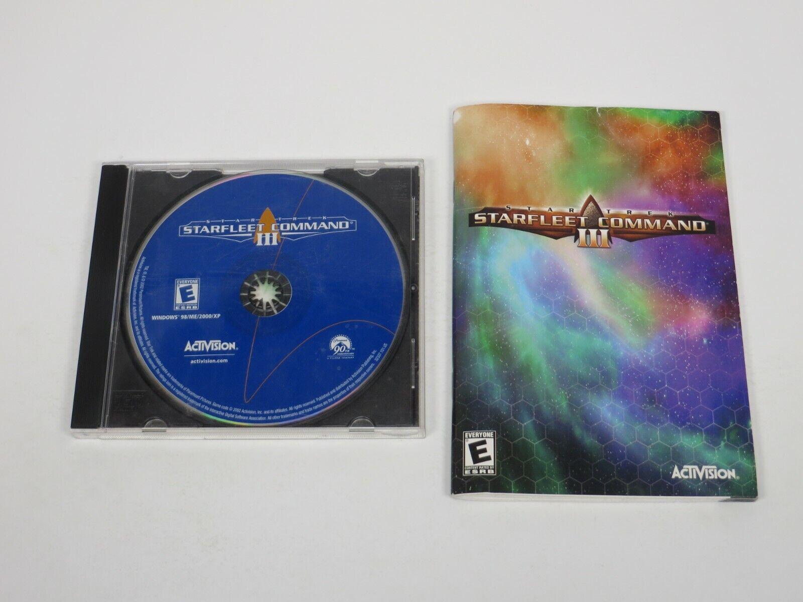 Computer Games - Star Trek: StarFleet Command III (PC, 2002) PC Computer Game Activision