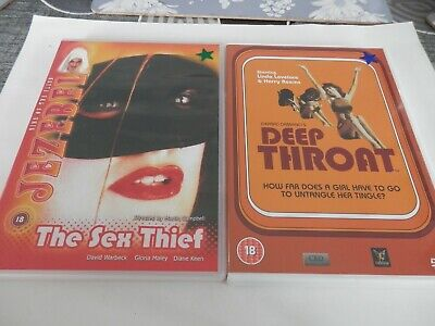 The Sex Thief ( Jezebel )( Diane Keen ) & Deep ( Linda ). 70's. DVD's.Freepost.
