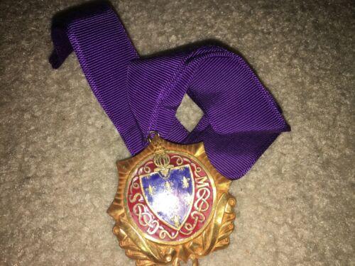 Boy Scout BSA Knight Holy Scripture Dan Beard Religious Award Uniform Medal