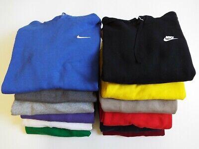 Vintage Nike Small Swoosh Logo Hoodie Hooded Sweatshirt