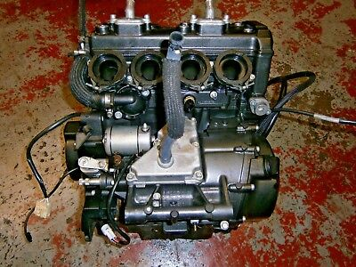 <em>YAMAHA</em> XJ6 N 2011 COMPLETE ENGINE   ONLY COVERED 4558 MILES