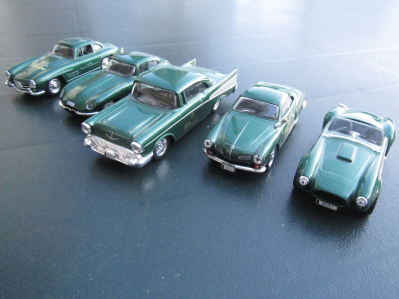 5 Classic Cars in Scale 1:43 * German Brewery Promotion