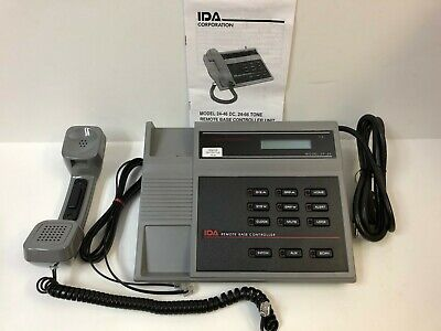 Ida 431- 24-66h Remote Base Controller With 611613 623 Option Tone Remote New