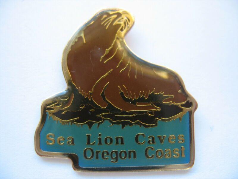 SEA LION CAVES LAPEL PIN - OREGON COAST