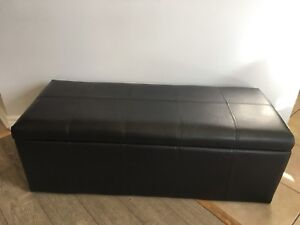 Brand new and boxed Storage Ottomans (2 styles available)