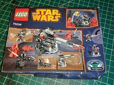 LEGO dented box complete Star Wars 75034 Death Star Troopers trooper set