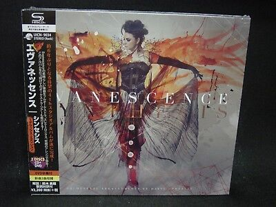 EVANESCENCE Synthesis JAPAN SHM CD + DVD The Age Of Information Seether Nu Metal