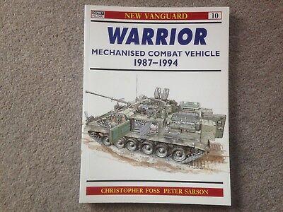 Osprey New Vanguard - Warrior Mechanised Combat Vehicle 1987-94