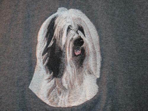 Embroidered Ladies Fleece Jacket - Tibetan Terrier BT3070 Sizes S - XXL