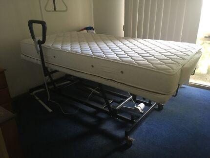 Plega fully electronic bed.