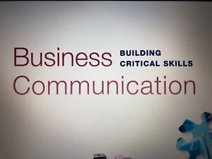 Bussiness Communication Building critical skills