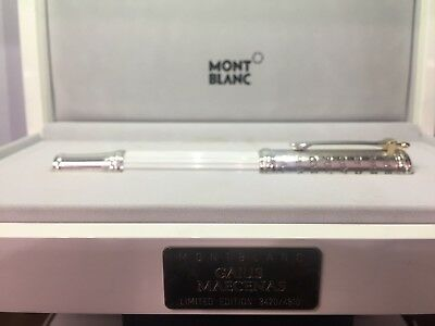 NEW Authentic MONTBLANC GAIIUS LIMITED 106438 FOUNTAIN PEN BOX/PAPERS