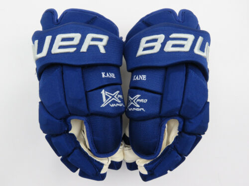 """New! Bauer 1X NHL All Star Game Pro Stock Hockey Player Gloves 15"""" Kane"""