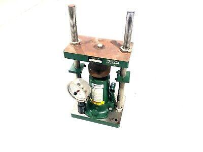 Carver 3392 Benchtop Hydraulic Press Mini C 5-18 Stroke 12 Ton