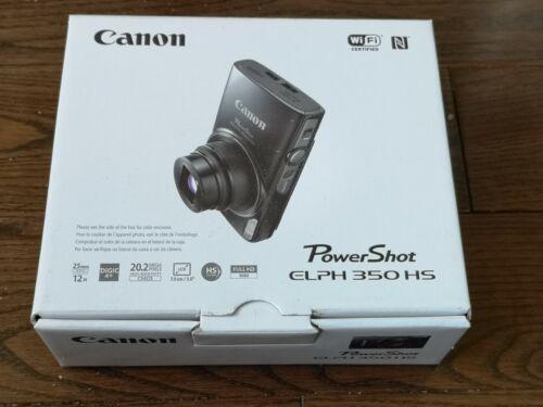 Canon PowerShot Elph190 20.0-Megapixel Digital Camera Black 1084C001