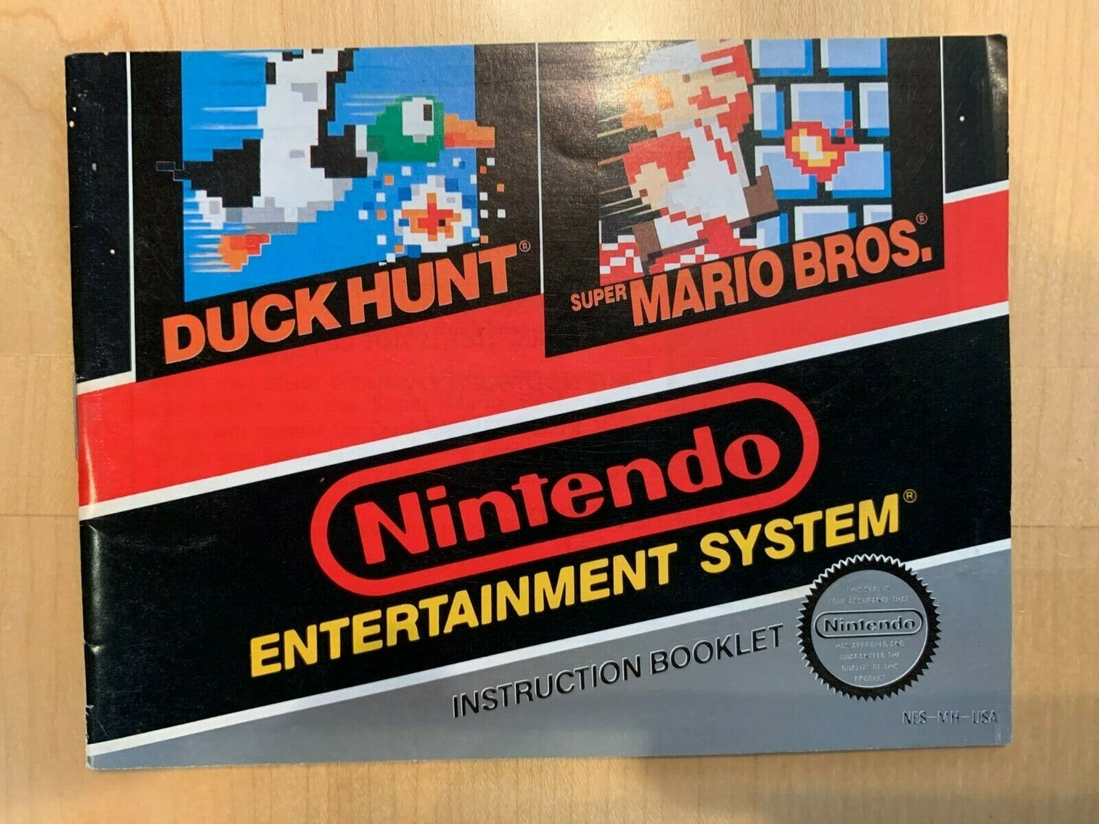 Duck Hunt/Mario Bros Nintendo NES MANUAL Only Excellent - $10.00