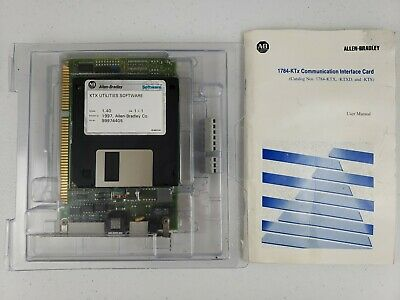 Allen Bradley 1784-ktx Interface Card 1784ktx Pn 96217672 W Manual Software