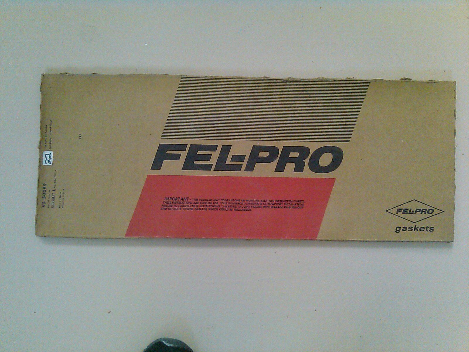 Fel Pro Camshaft Gasket Set  VS 50089  - 1971-73 Chevy 4