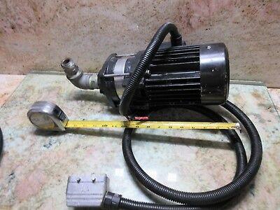 Grundfos Electric Oil Coolant Pump Cnc Mill Lathe Edm