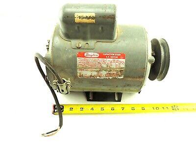 Dayton Motor 6k157 1725 Rpm 115208-230 V 60hz Frame 58 1 Hp 12.86.4 A Tested