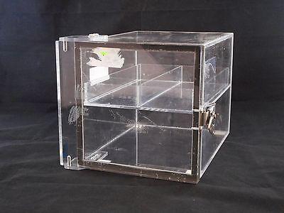 Mitchell Acrylic Desiccator Cabinet Dry Box W Removable Shelf 7-14 X 8 X 10